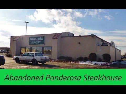 Abandoned Ponderosa Steakhouse Alliance Ohio Youtube