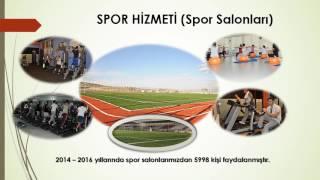 Pursaklar Belediyesi 2014-2016 Yılları Arası Hizmetleri -