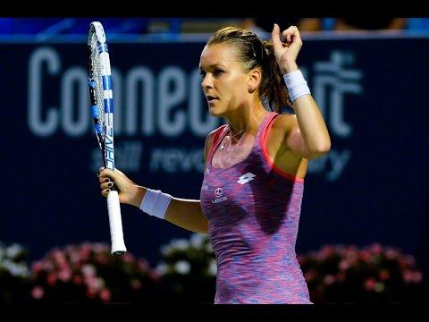 [HD] Agnieszka Radwanska vs Petra Kvitova New Haven 2016 Highlights