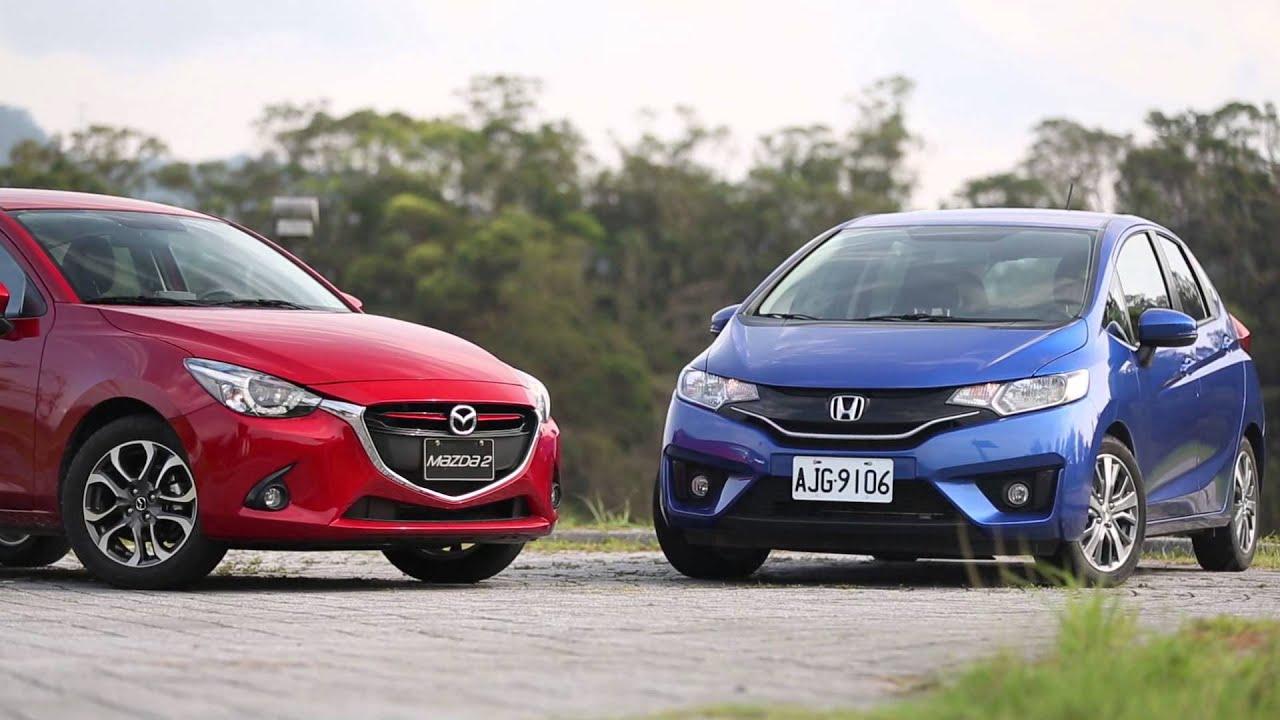 Honda FIT v.s Mazda2-外觀設計 | Doovi