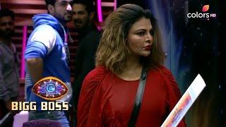 Bigg Boss S14 | बिग बॉस S14 | Rubina Throws A Bucket Of Water On Rakhi