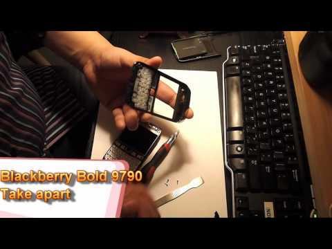 Blackberry Bold 9790 take apart video