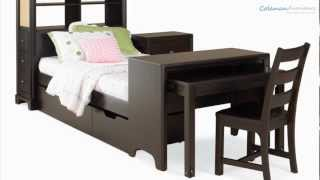 Midtown Footboard Bookcase Storage Bedroom Collection From Lea Furniture
