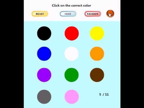 learning game for kids find the color youtube - Kindergarten Color Games