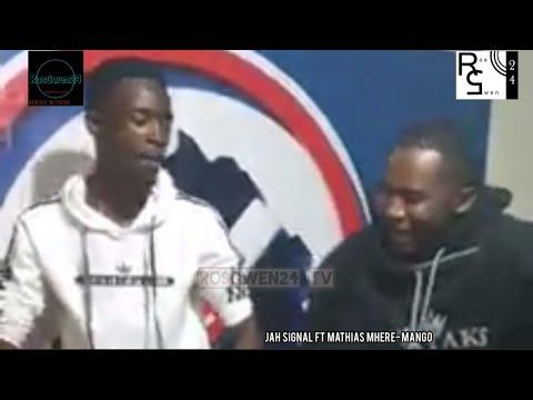 Jah Signal ft Mathias Mhere - Mango [Studio video]