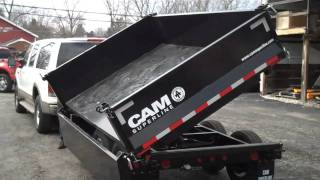 Cam Superline 3-way dump trailer from Akron Tractor