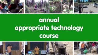 annual appropriate technology course video sample trailer