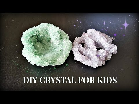 DIY Crystal For kids