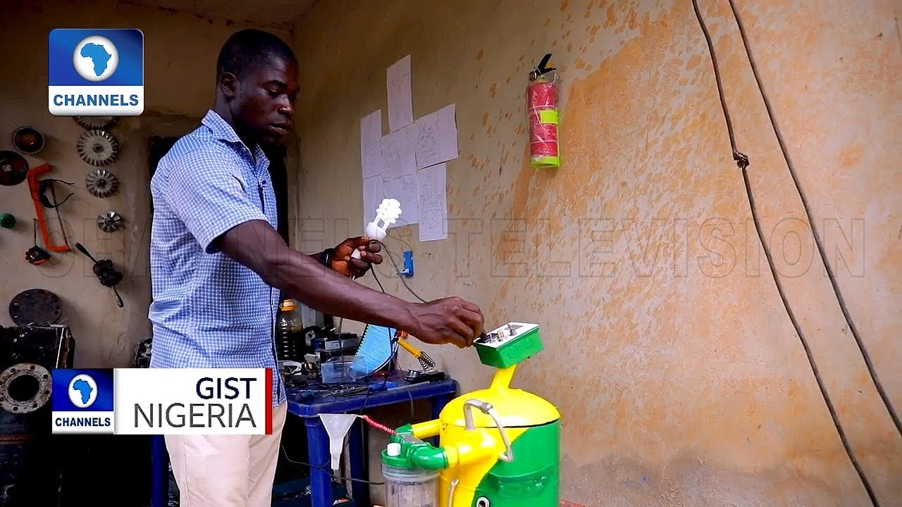 Nigerian Invents Generator That Runs On Water
