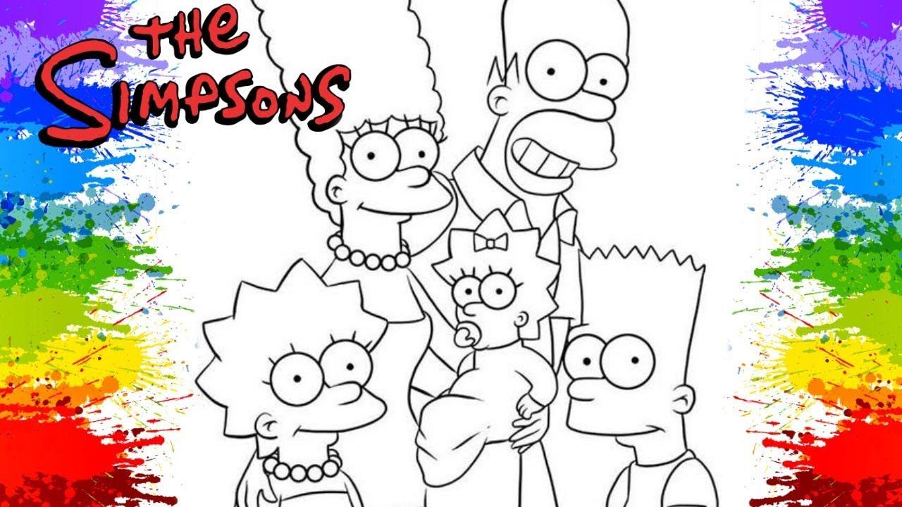 Pinturas Os Simpsons Dublado Em Portugues Desenho Animado Para