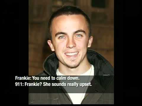 911 reveals fight between Frankie Muniz and his girlfriend