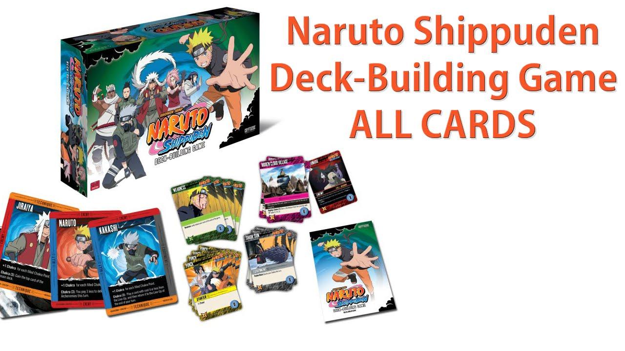 Naruto Deck Building Game