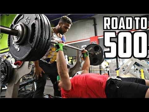 Download Youtube: 420lb Bench Press (HEAVIEST So Far) | Max Reps at 225lbs | Road to 500 Ep. 6 (ft. Terron Beckham)