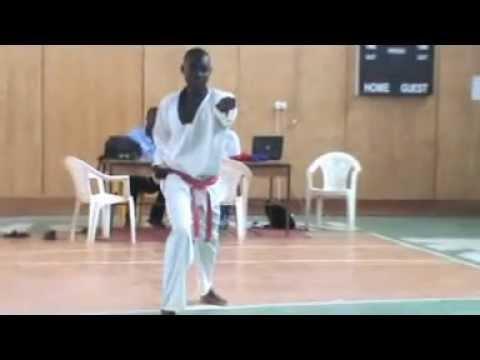 TaekwondoTchad Maxime Michael poom se