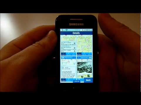 Samsung Apps: Traffic Data for Wave 525