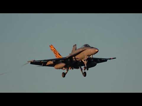 Dawn Strike Recovery at RAAF Williamtown...