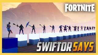 Swiftor Says in Fortnite Creative #6! You Made This!