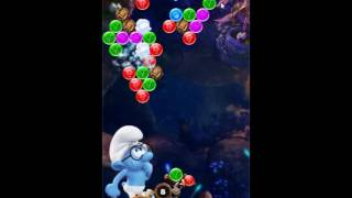 Smurfs Bubble Story Level 106 - NO BOOSTERS