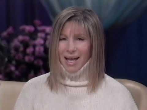 Barbra Streisand and Oprah