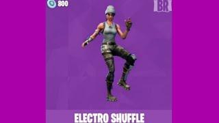 electro shuffle fortnite