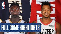 PELICANS at TRAIL BLAZERS   FULL GAME HIGHLIGHTS   February 21, 2020