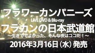 フラワーカンパニーズ LIVE DVD&Blu-ray「フラカンの日本武道館」トレーラー映像