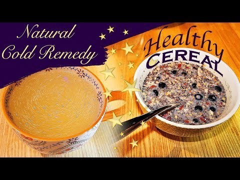 Healthy Cereal Alternative & Natural Cold Remedy | Paleo | Dairy Free | Gluten Free Breakfast