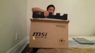 MSI GS60 Ghost Pro 4K Unboxing.