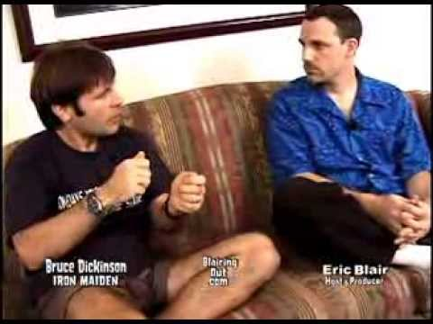IRON MAIDEN's Bruce Dickinson talks w Eric Blair 1998