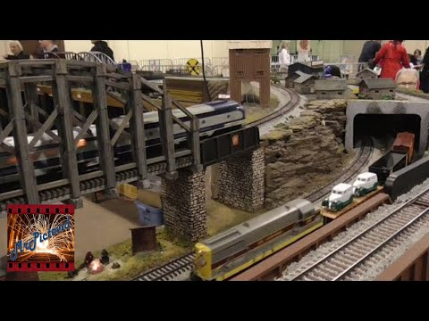 American Flyer S Gauge Train Action With The Central Ohio S Gaugers