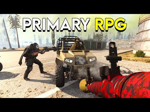 Using The RPG As A Primary Weapon In CoD Warzone