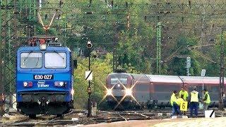 Vonatok Kelenföldön 2016 okt. 13-án / Trains at / Züge an Kelenföld