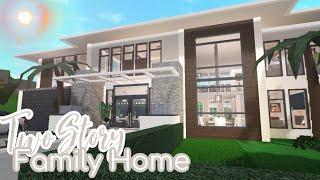 Roblox Bloxburg I 2 Story Family Role-play House Build