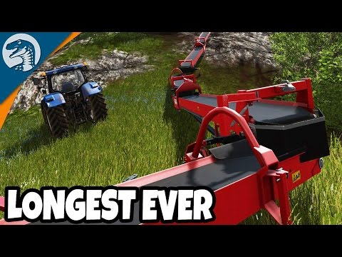 LONGEST CRAZIEST CONVEYOR PHASE ONE | Uncle Sam's Farm | Farming Simulator 17 Gameplay Ep. 4