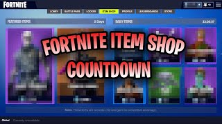 🔴 *NEW* AUGUST 29 ITEM SHOP COUNTDOWN (MY LAST STREAM) PLAYING WITH SUBS