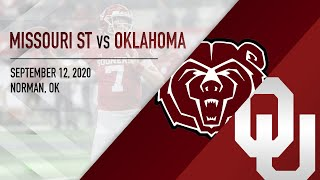 OU Highlights vs Missouri State (9/12/2020)