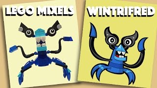 LEGO Mixels - Wintrifred - Stop Motion Build (How to build)