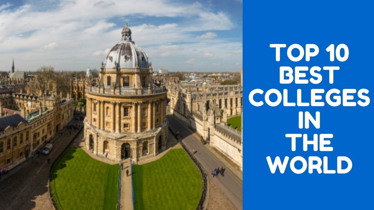 Top 10 Best Colleges For Students With >> Top 10 Best Colleges In The World Best Universities In The World