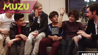 One Direction Exclusive Interview | MUZUTV