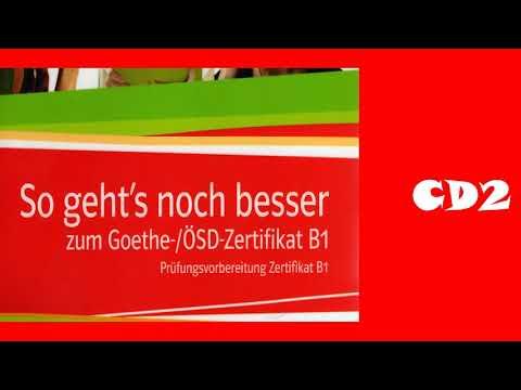So Geht S Noch Besser Zum Goethe ösd Zertifikat B1