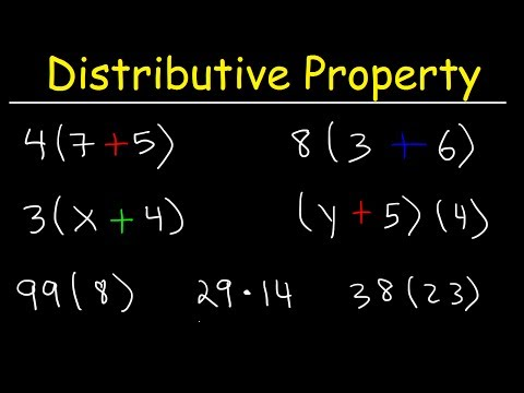 The Distributive Property - Discover How To Use It!