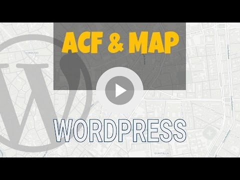 Come usare Google Map e LeafletJS con ACF (webgis 042c)
