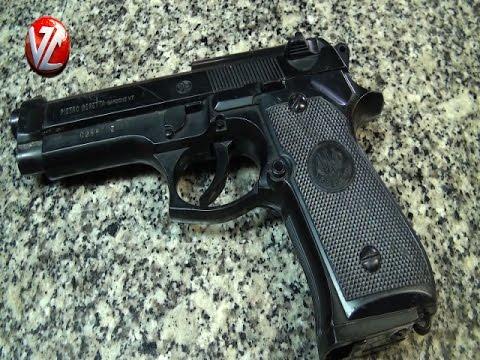 Polícia apreende pistola de brinquedo na Vila Santa Cecília