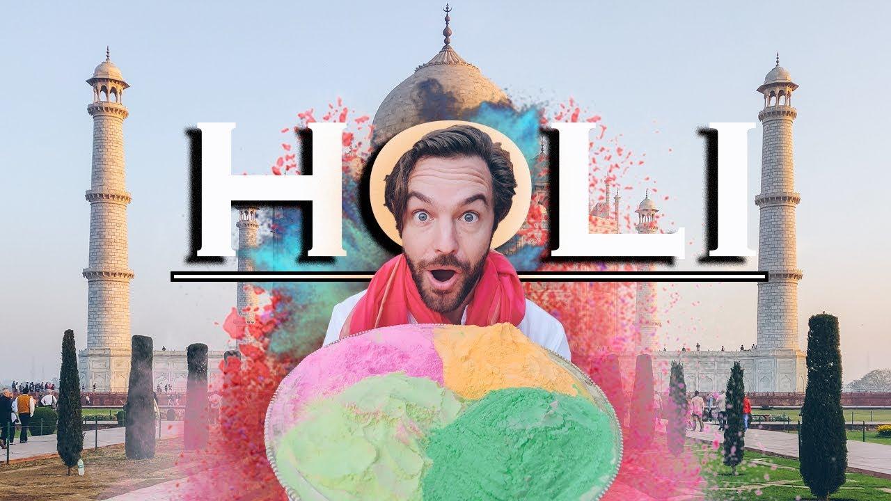 Holi Festival India | New Delhi & Taj Mahal Travel Guide