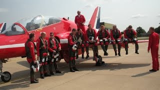 Red Arrows 50th anniversary event at Scampton in 2013