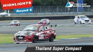 Highlights Thailand Super Compact : Round 6 @Chang International Circuit