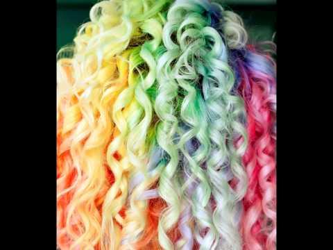 Renkli Saç Modelleri 2015