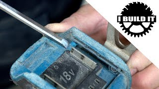 Use New Batteries On Old Makita Tools Trick