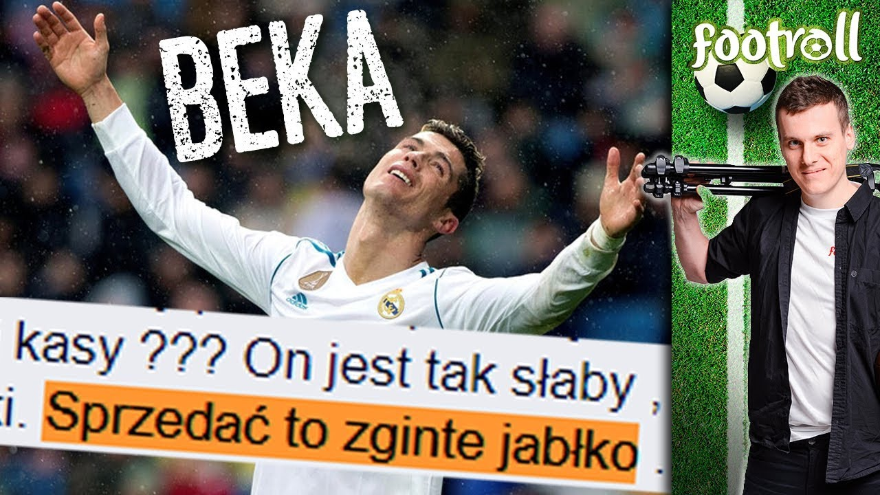 """Ronaldo to zgnite jabłko"" 