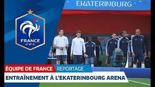 Equipe de France : Dernier entraînement avant France-Pérou I FFF 2018